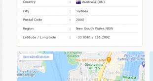 Làm sao để Fake IP sang Úc?