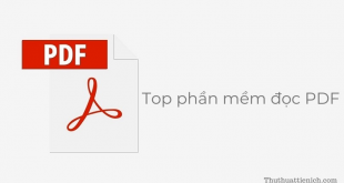 Top phần mềm đọc file PDF tốt nhất
