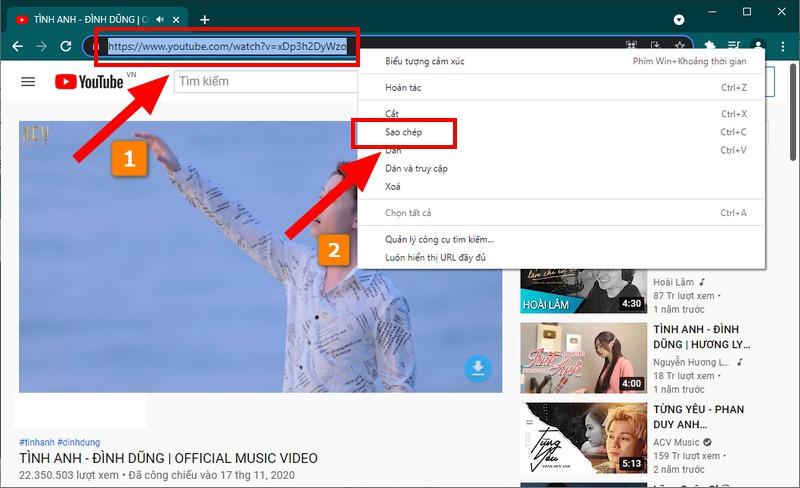 Tải video Youtube nhanh nhất bằng Ytop1
