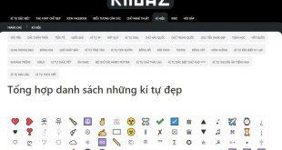 Cách tạo tên game độc đẹp lạ có kí tự đặc biệt với kituaz.com