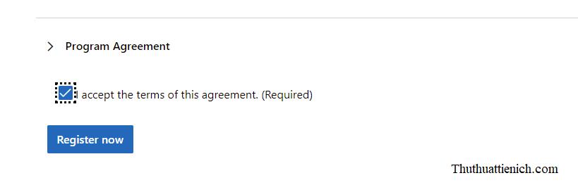 Đăng ký Windows 11 Insider Preview