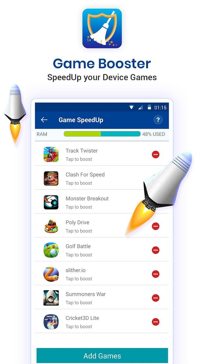 Cài đặt ứng dụng Game Booster