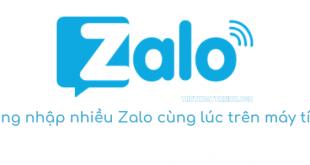 Cách đăng nhập nhiều tài khoản Zalo cùng lúc trên máy tính