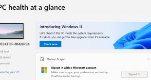 Tải Windows PC Health Check – Phần mềm kiểm tra máy tính chạy được Windows 11 không